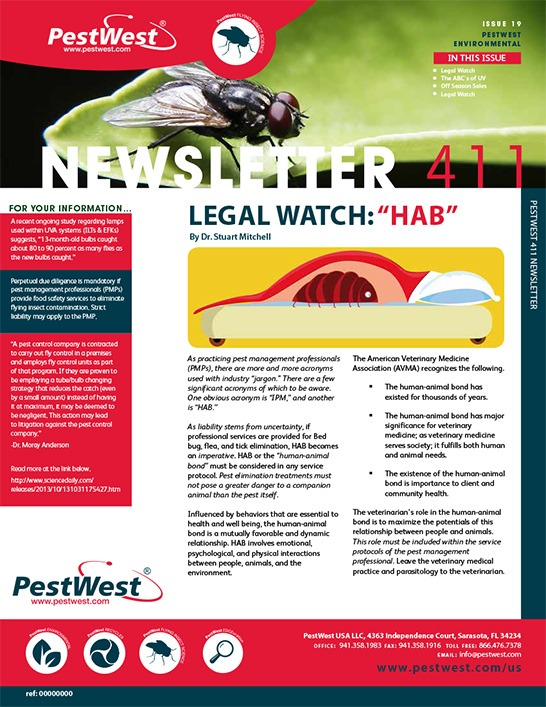 PestWest Newsletter 411- Issue 19f