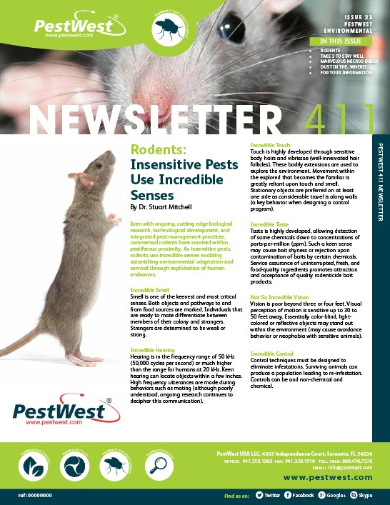 PestWest Newsletter 411 - Issue 23