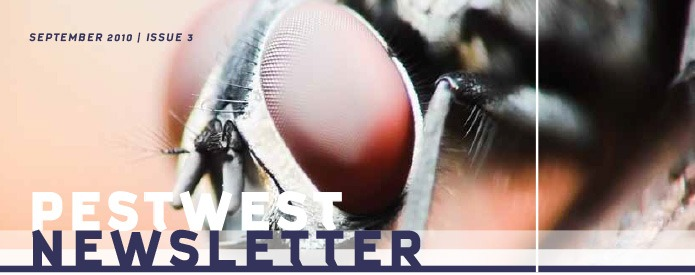 PestWest UK Newsletter - Issue 3 Top