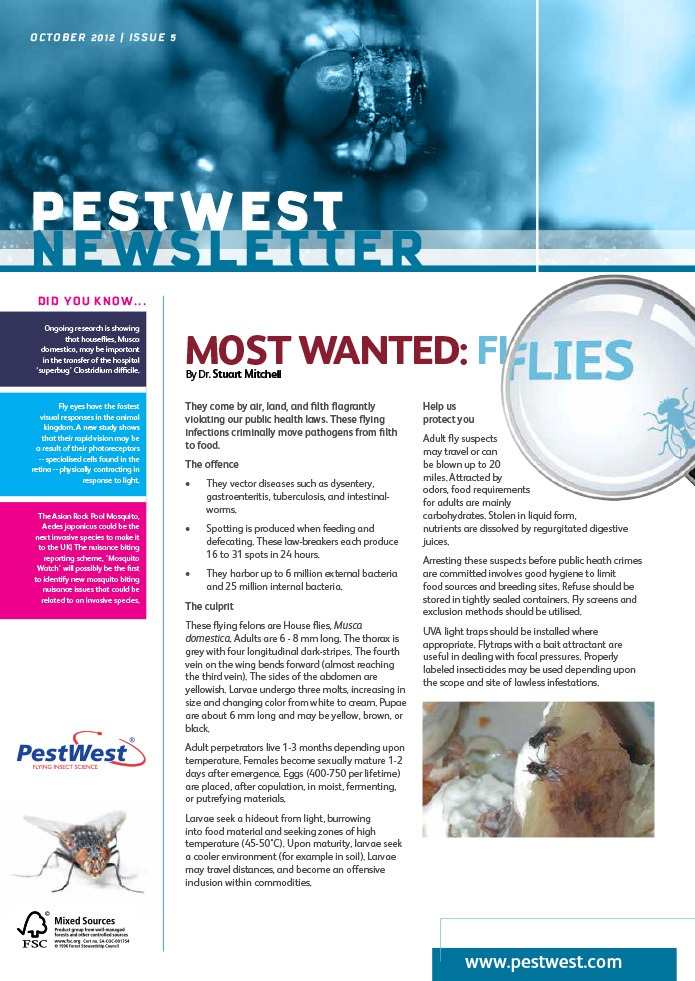 PestWest UK Newsletter - Issue 5