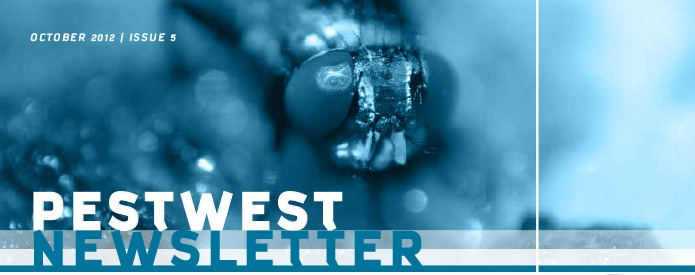 PestWest UK Newsletter - Issue 5 Top