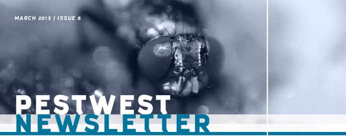 PestWest UK Newsletter - Issue 6 Top